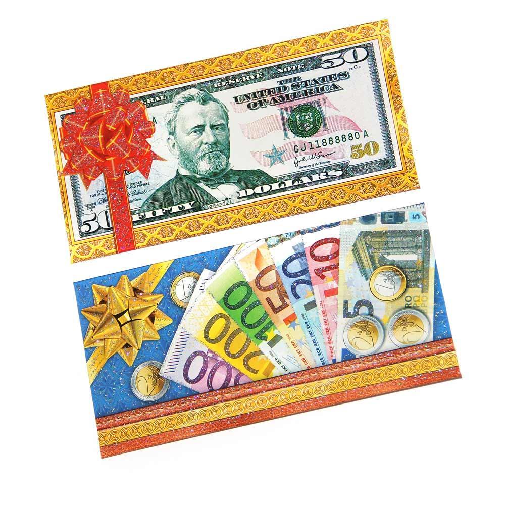 Долларовые открытки, своим рукам