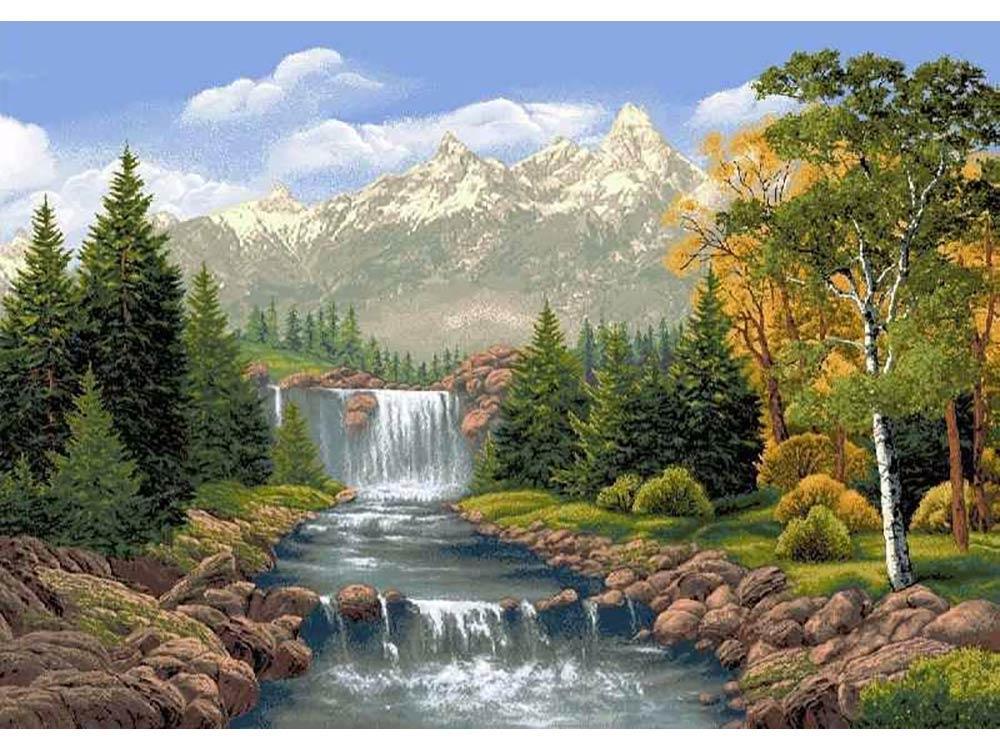 Анимационные открытки природа