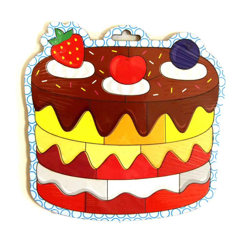 рисунок тортов разрезные общем, подготовила